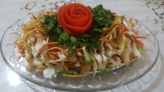 Салат Шаурма или Шаверма. Очень просто и вкусно. Shaurma salati. Juda mazzali.