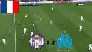 #4 Toulouse FC - OM / ANALYSE TACTIQUE