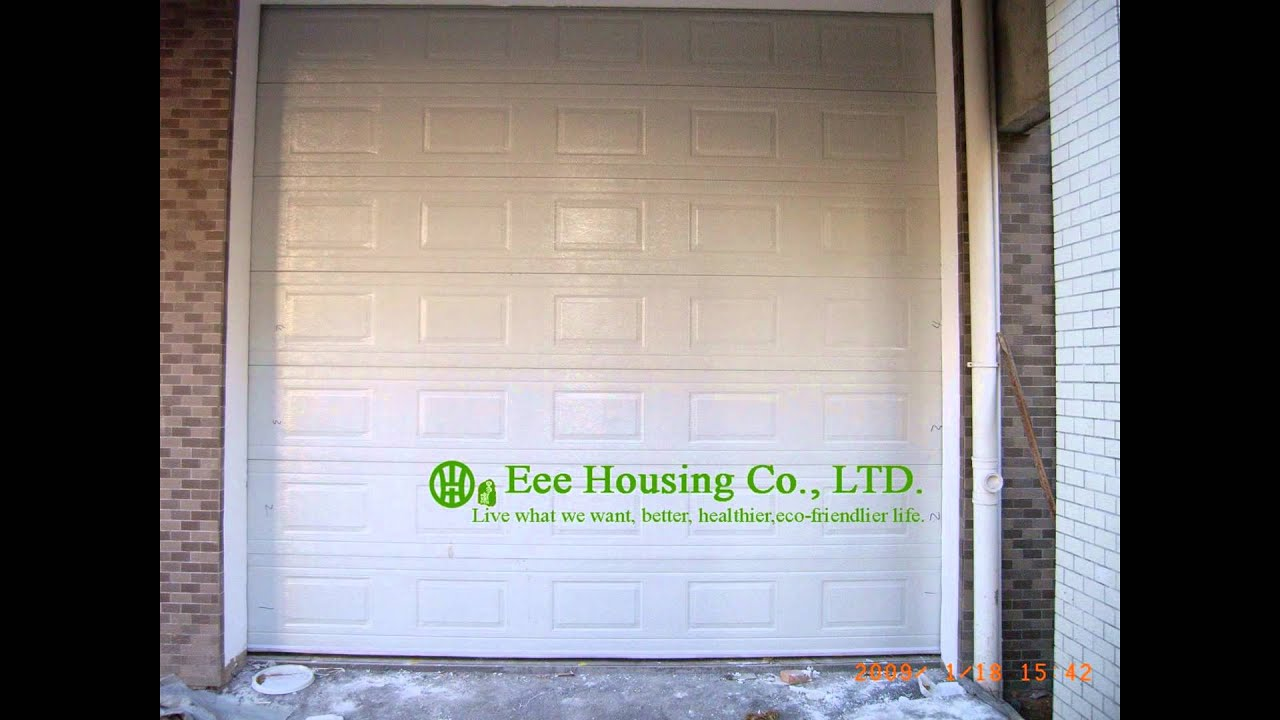 High Quality Residential Aluminum Motor Control Roll Up Door