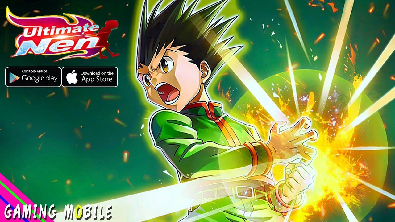[Android/IOS] Ultimate Nen (Hunter X Hunter) - Anime Gameplay
