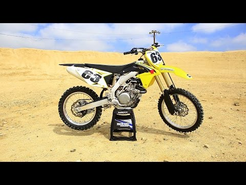 First Ride 2016 Suzuki RMZ 450 || Motocross Action Magazine
