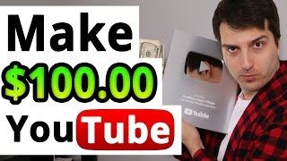 How to Make $100 a Day On YouTube (100% Anonymous) | Make Money Online 2019