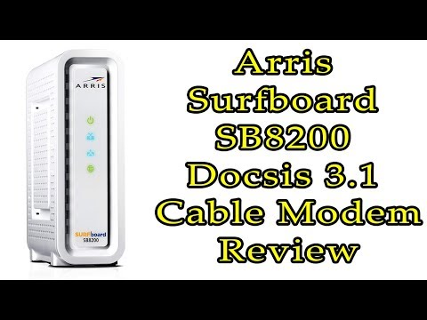Next-generation Arris Surfboard SB8200 Docsis 3.1 Cable Modem Review