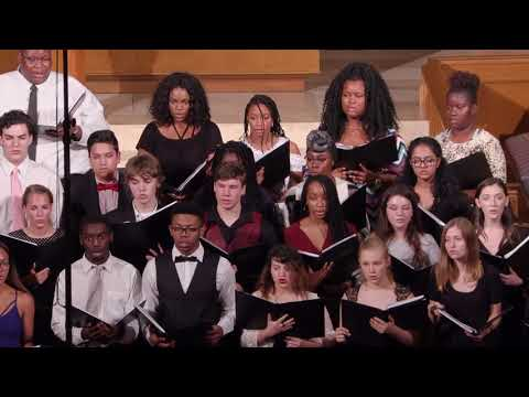 Good Night, Dear Heart - Dan Forrest, performed by Western Guilford High School Chamber Ensemble