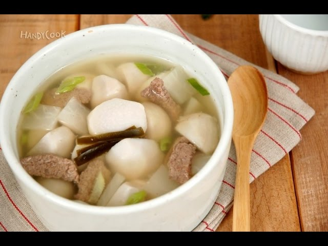 Toran-guk (Taro soup토란국)_Koreanfood recipe(영어자막)ENG ver.