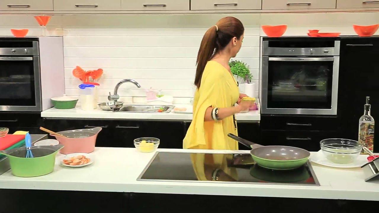 كشك بالجمبرى و وصفات اخرى : اميرة في المطبخ حلقة كاملة