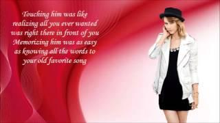 RED (guitar cover w/lyrics) karaoke