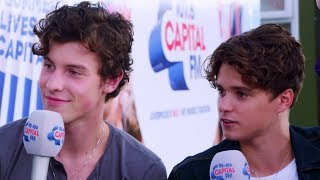 Shawn Mendes and The Vamps reunite at Fusion Festival