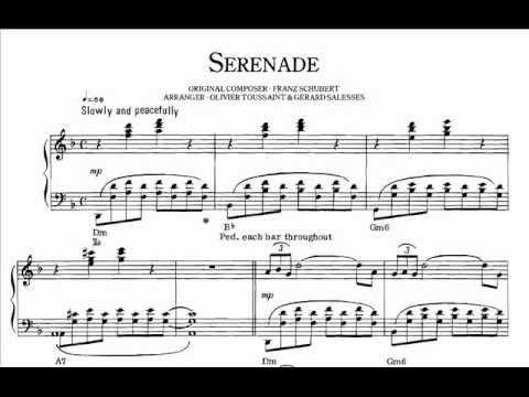 Richard Clayderman - Serenade (with score).
