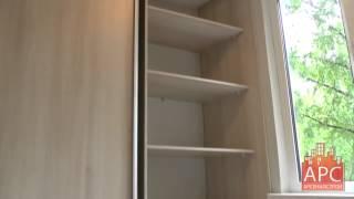 Встроенный шкаф и корпусный шкаф купе на лоджии под заказ(, 2015-06-08T11:44:01.000Z)