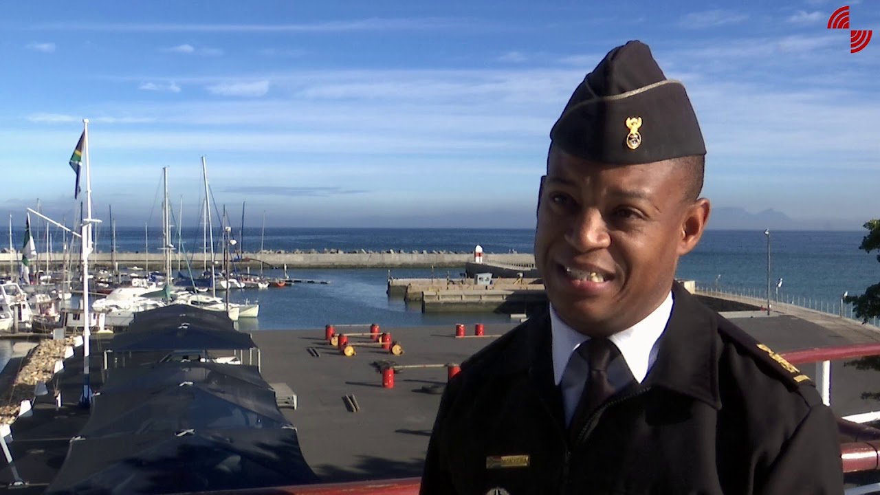 SANDF Youth Month Celebration SA Navy officer's course