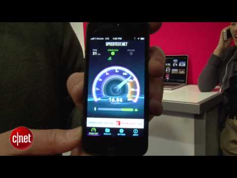 iPhone 5 lands on T-Mobile's 4G LTE network