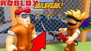 NOWA UCIECZKA W JAILBREAK! - ROBLOX #489 [Roblox WIęzienie]