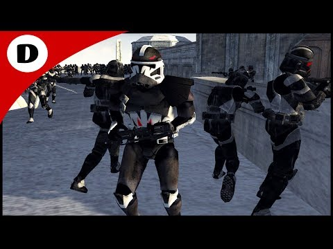 COMMANDER DEVIL ASSAULTS RHEN VAR CITY - Men of War: Star Wars Mod
