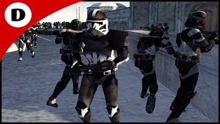 COMMANDER DEVIL ASSAULTS RHEN VAR CITY - Men of War: Star Wars Mod