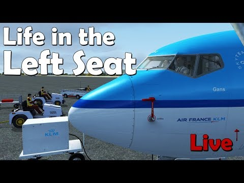Life in the Left Seat  LEPA - EHAM (Palma de Mallorca to Amsterdam)