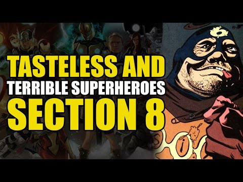 DC's Section Eight (Tasteless & Terrible Superheroes)