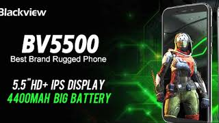Blackview BV5500, a particularly durable smartphone can be elegant, device genius