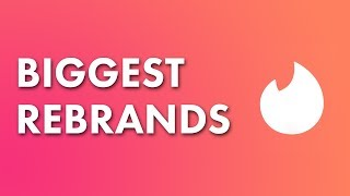 2 HUGE Logo Rebrands of 2016 -2017 NEW TINDER LOGO?