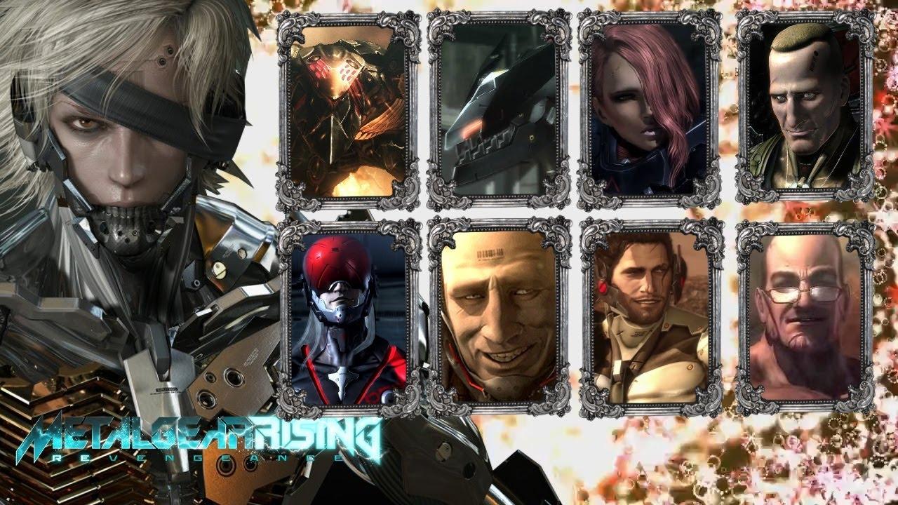 Download Metal Gear Rising - All Vocal Boss Themes + On Screen Lyrics