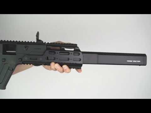 kriss vector mk1 modular rail firearms outlet canada youtube