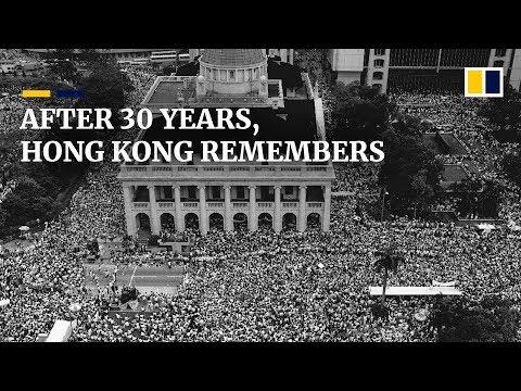 Why Hongkongers remember China's Tiananmen crackdown