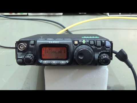 #119 Repair: Yaesu FT-817 QRP Radio no TX/RX on SSB