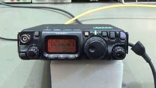 119 repair yaesu ft 817 qrp radio no tx rx on ssb