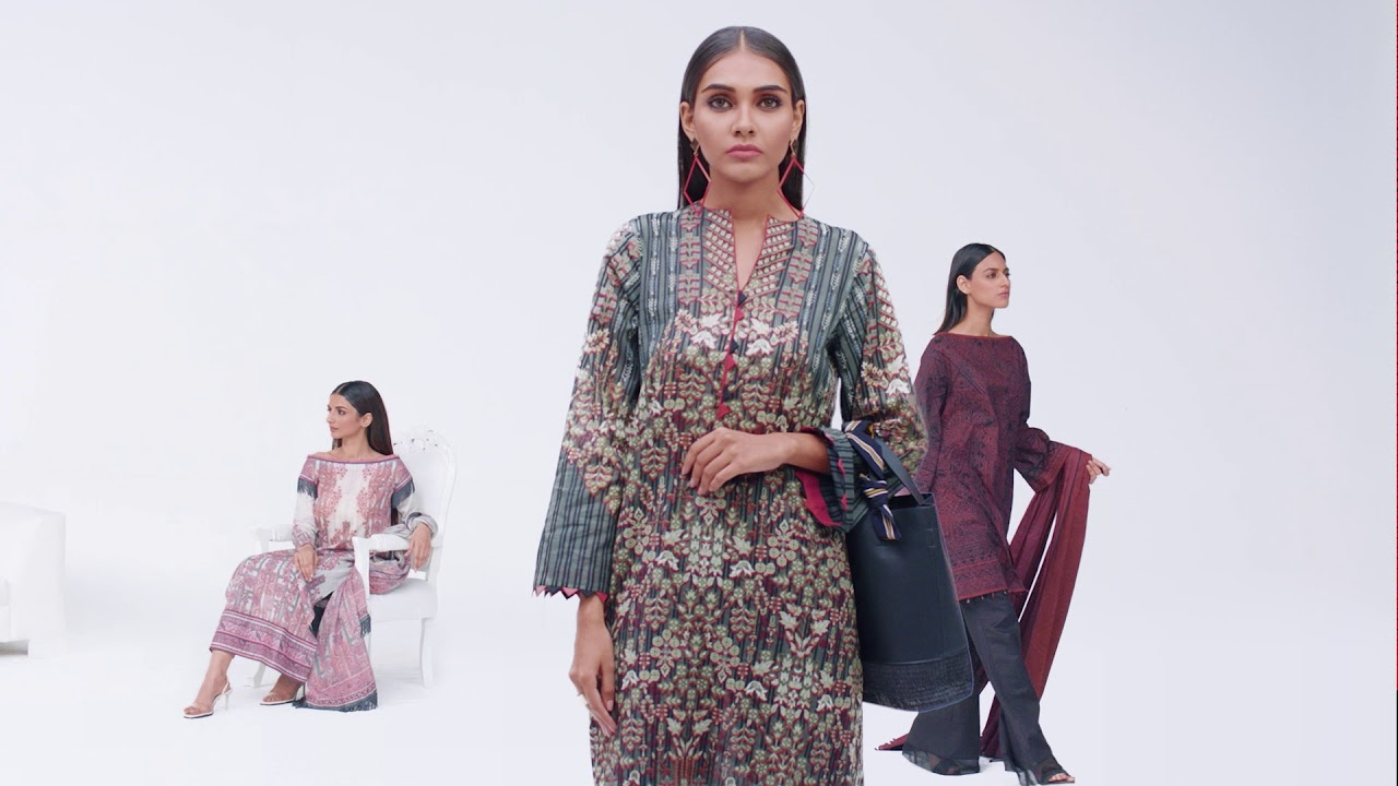 Al Karam Spring Summer 2019 fashion video