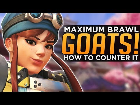 Overwatch: Maximum BRAWL GOATS & How to Counter It!