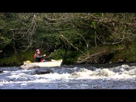 Open Canoeing on the Avonmore River, from Laragh to Arklow, May 2012