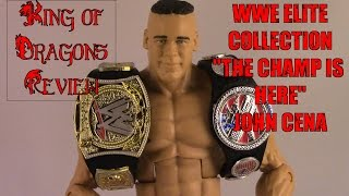 "WWE Elite Collection Toys R Us Exclusive ""The Champ is Here"" John Cena Review"