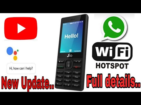 Jio phone software update google assistance full test vs hello jio | hotspot | whatsapp | youtube .