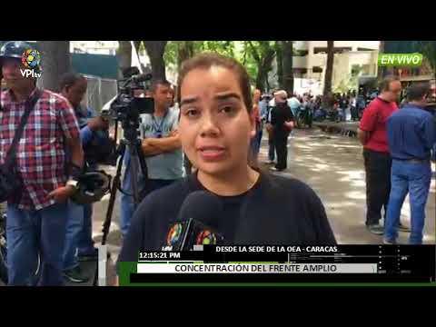 Venezuela. - Frente Amplio marchó hasta la sede de OEA en Caracas - VPItv