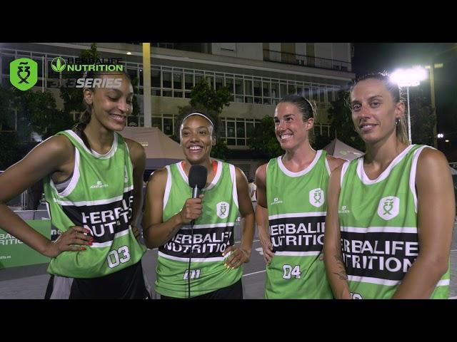 Entrevista a las ganadoras del Madrid Open Herbalife 3x3 Series 2021