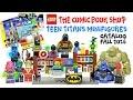 LEGO Comic Book Shop & Teen Titans Minifigures Kids Toys Lego Catalog Fall 2016 w/ Raven Saturn Girl