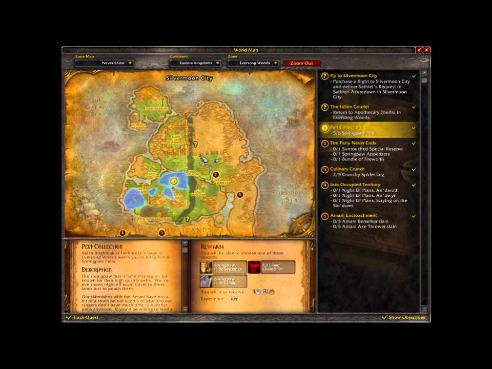 Blood Elf Mount Trainer - Thuron's Livery - level 20 mount ...