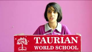 The Historic Words: A Speech of Subhash Chandra Bose Orated by TWS Student