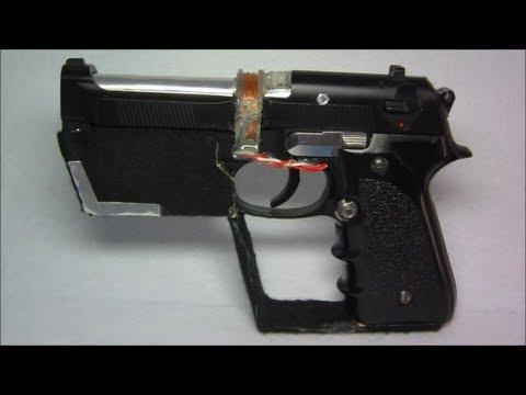 Homemade Coilgun Energy Weapon Model