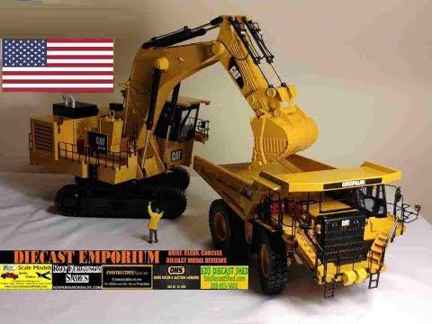 Classic Construction Models (CCM) Caterpillar 6020B Hydraulic Shovel