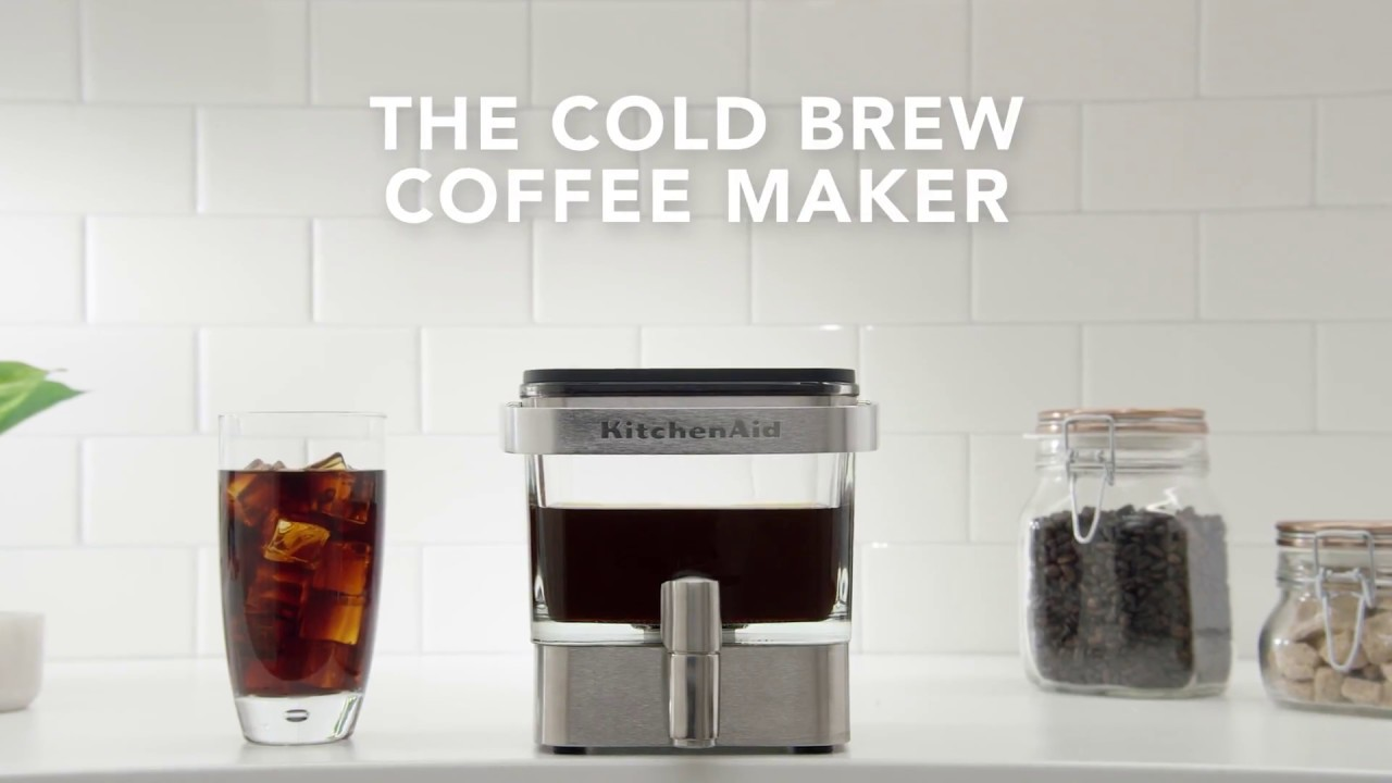 Cold Brew 101 L Kitchenaid Youtube