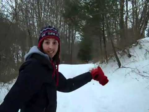 Blogging Bulldog Chloe: Snow tubing in Woodbury, CT