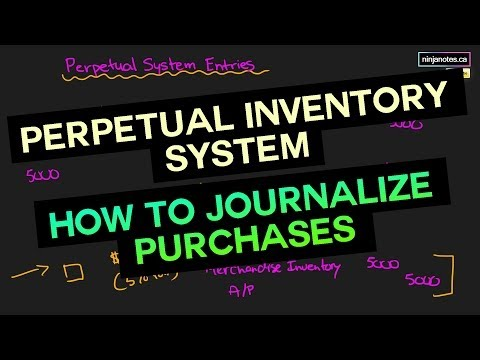 Perpetual Inventory System and How to Journalize Purchase Entries (FA Tutorial #30)