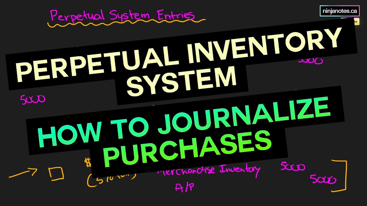 Buyer Entries under Perpetual Method   Financial Accounting