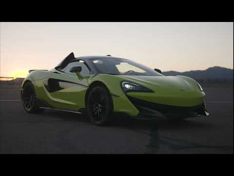 McLaren 600LT Spider Lime Green