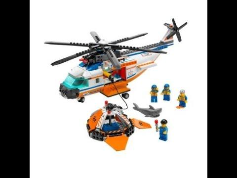Jogo Lego: Helicóptero do salvamento Lego