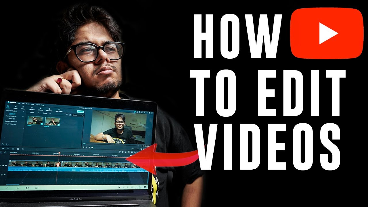 Download How to EDIT VIDEOS for YOUTUBE!   BASIC EDITING FOR BEGINNERS!