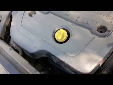 Рено Лагуна 2 замена масла и фильтра двигателя, Renault Laguna 2 1.9 DCI Какое масло лить? Elf NF