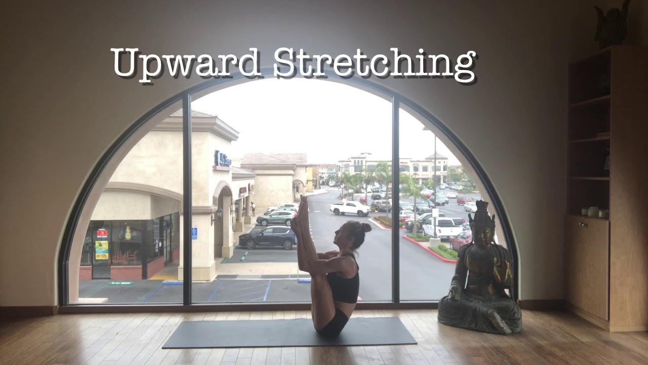 Bikram Yoga Upward Stretching Pose Advanced Series - YouTube