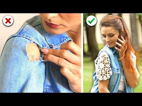 12 DIY et Astuces Pour Réutiliser Ses Vieux Vêtements